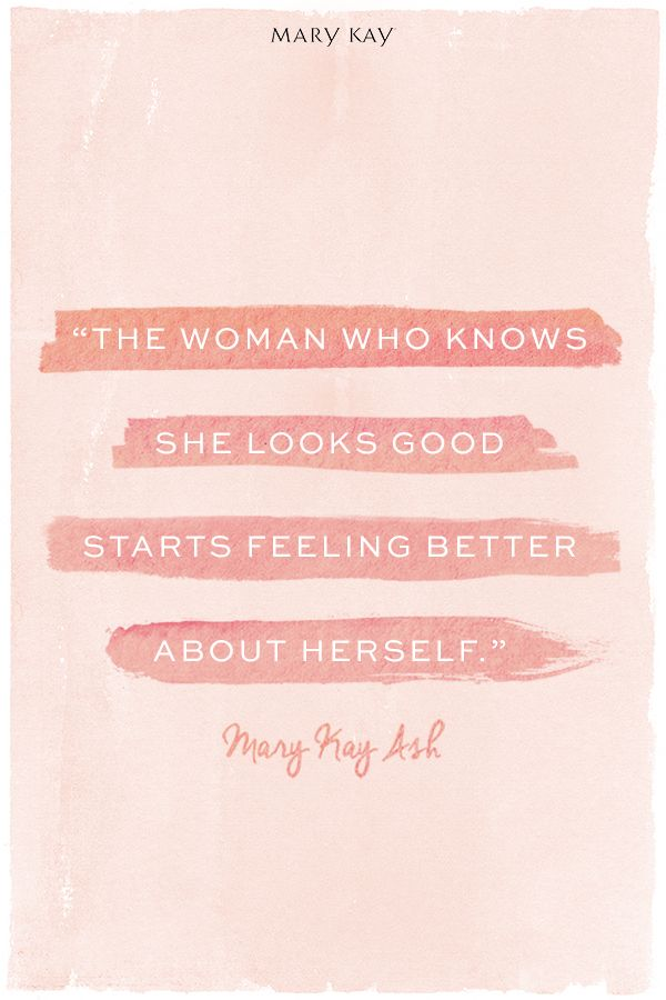 Grab your favorite Mary Kay® products that make you feel beautiful and you will be ready to conquer the world! | Mary Kay