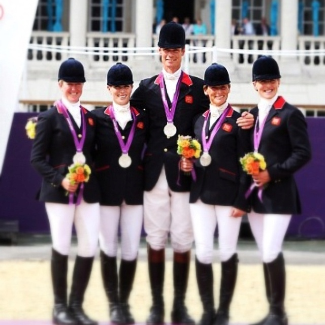 Zara Phillips, Tina Cook, Nicola Wilson, William Fox-Pitt & Mary King - Silver, Equestrian Team Event