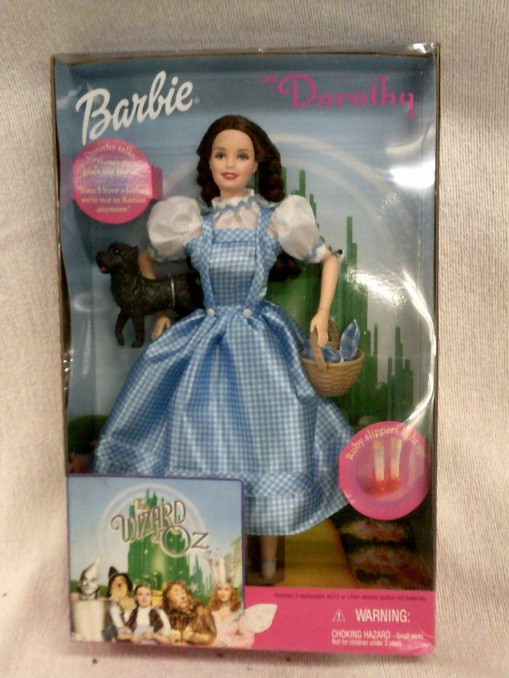 PRETTY Mattel BARBIE WIZARD OF OZ TALKING GLINDA GOOD