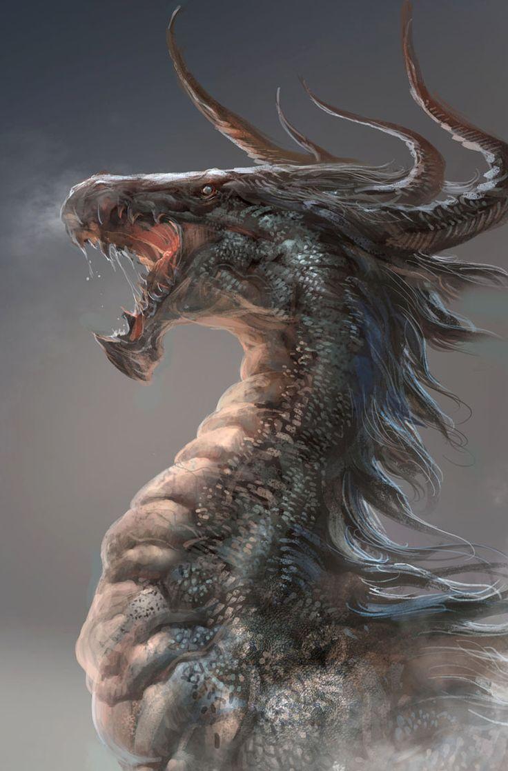 Populaire Les 344 meilleures images du tableau dragon sur Pinterest | Art  CD66