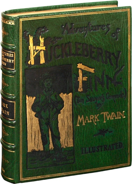 The racial issue of a young boy in huckleberry finn by mark twain