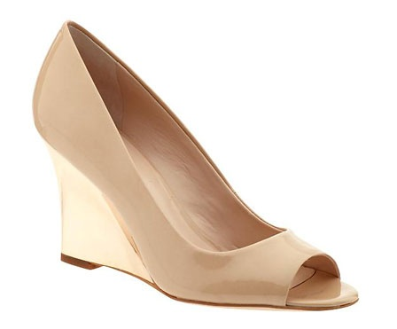Nude peep toe shoes are fashionable AND subtlety sexy. Where to buy and what to wear with it:  http://blog.womenshealthmag.com/beauty-style-buzz/dinner-date/
