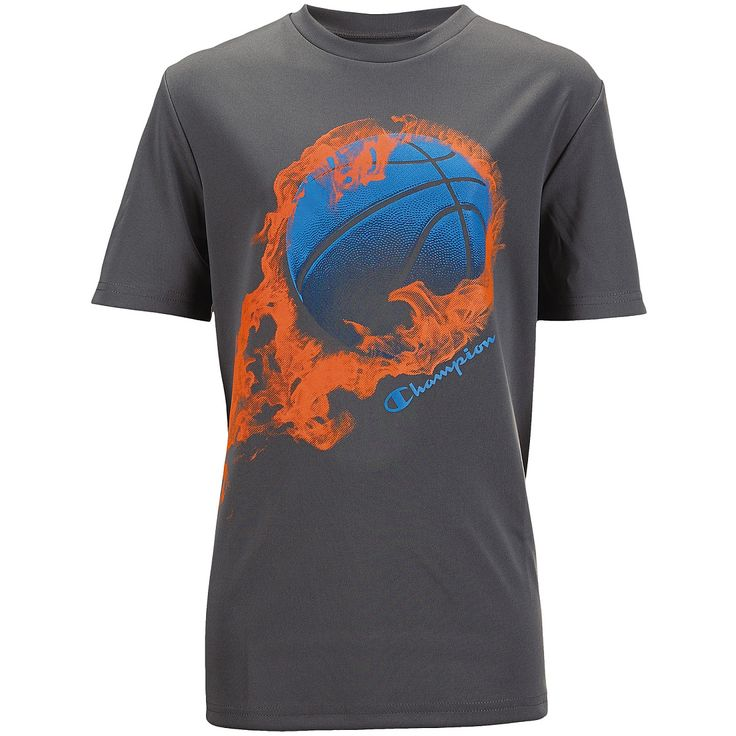 Champion GEAR Boys' Graphic Short-Sleeve Basketball T-Shirt - SportsAuthority.com
