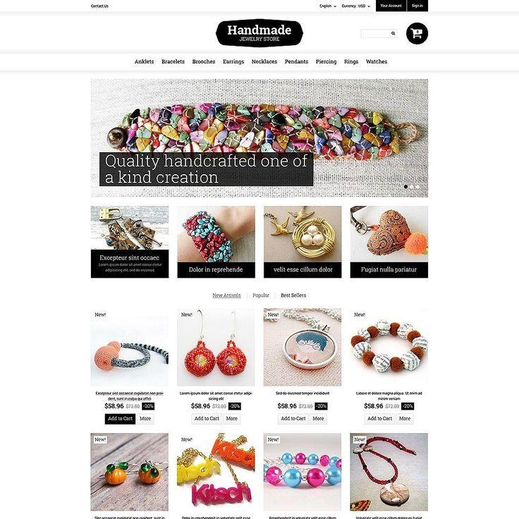 Did you like it??   Handmade Jewelry PrestaShop Theme CLICK HERE! live demo  http://cattemplate.com/template/?go=2dGX7k9  #templates #graphicoftheday #websitedesign #websitedesigner #webdevelopment #responsive #graphicdesign #graphics #websites #materialdesign #template #cattemplate #shoptemplates