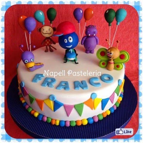 Napell Pasteleria: Baby tv Cake Tortas Infantiles. Cakes ...