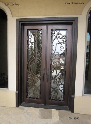 Iron Doors - Exterior - eclectic - front doors - dallas - by D'Hierro