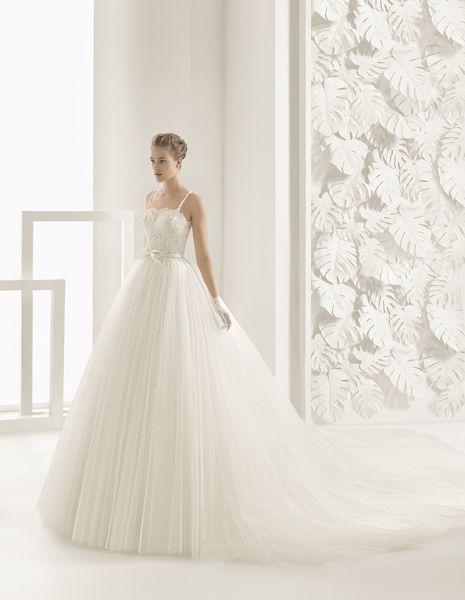 Vestidos de novia escote cuadrado 2017: Diseños que nunca pasan de moda Image: 0