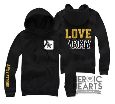 Honestly, I dont like most of the designs I see when I try to find Army hoodies..but i like this one