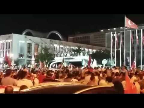 15 Temmuz  DARBE terör silah tank ucak  insan diriliş halk direniş ataşe...
