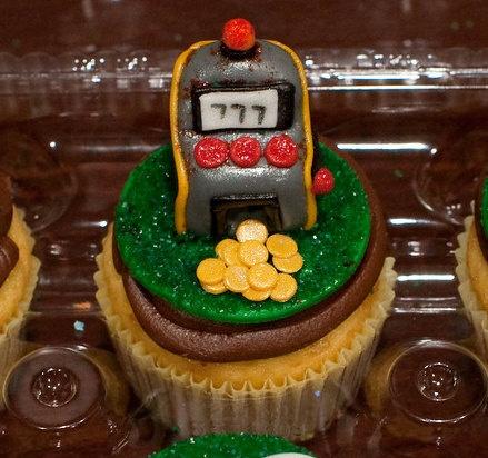 Slot Machine Cupcake Topper