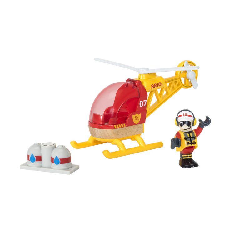 BRIO® WORLD Hasičskř vrtulnÝk 33797