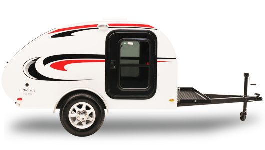 """Weighing in at just 3,140 pounds, the Max comes standard with an abundance of deluxe features and a refined exterior style. With an impressive 6'7"""" interior height, the Max's versatile cabin space incorporates lush materials to sleep and live comfortably, and thoughtful details – from ample storage and charging outlets to innovative entertainment features and LED lighting – the interior is an adventure all by itself."""