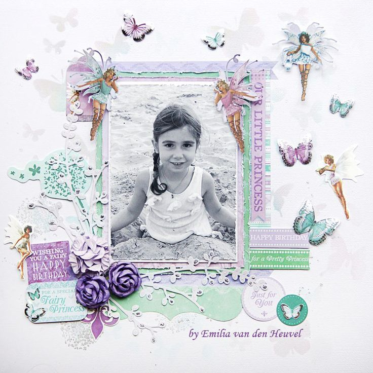 "<p>Hello everybody, Emmy here today to share with a brand new layout created with one of Kaisercraft's newest collections ""Fairy Dust"" (available at Merly Impressions online store). I absolutely adore this paper line – the fairies, the butterflies, the soft colour palette – everything is just the way I like it! <a href="" http://www.merlyimpressions.co.uk/blog/project-portfolio/scrapbooking/our-little-princess-with-fairy-dust/ ""> …click to read more</a></p>"
