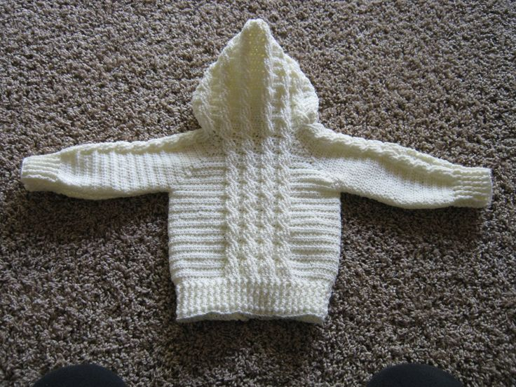 Child's Hooded Sweatshirt Crochet Pattern | Red Heart