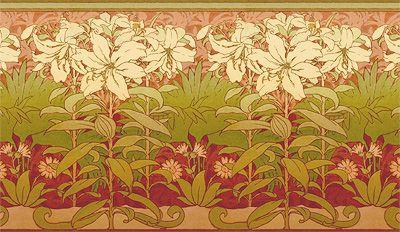 Lilies Frieze