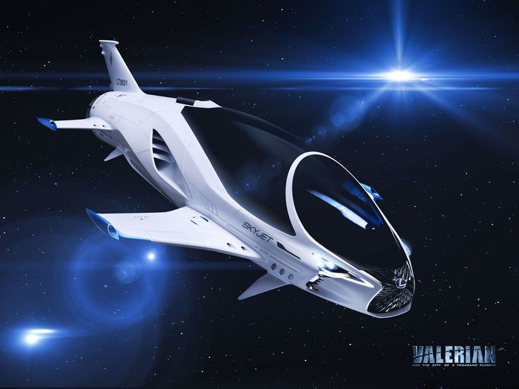 Lexus designs a spaceship for upcoming sci-fi movie by Luc Besson #Valerian