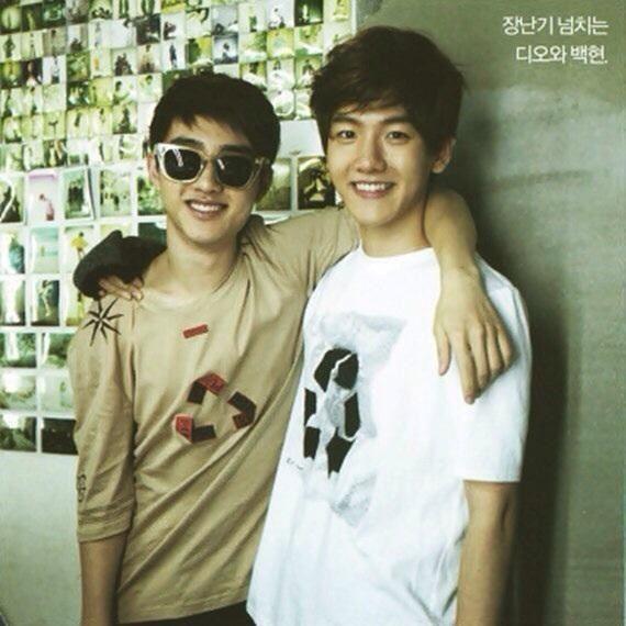 D.O. And baek hyun. Soooo cute