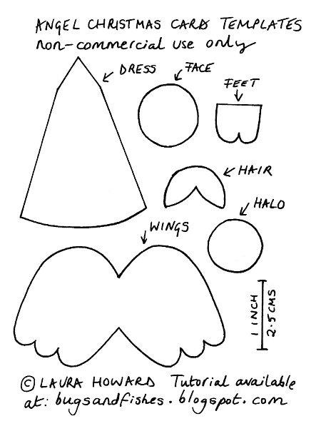 how to make felt angels