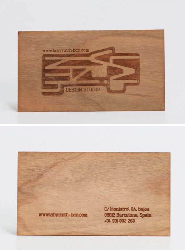 Business Cards (Material: Pine Wood). / Визитки из Дерева ••• #Business #Cards