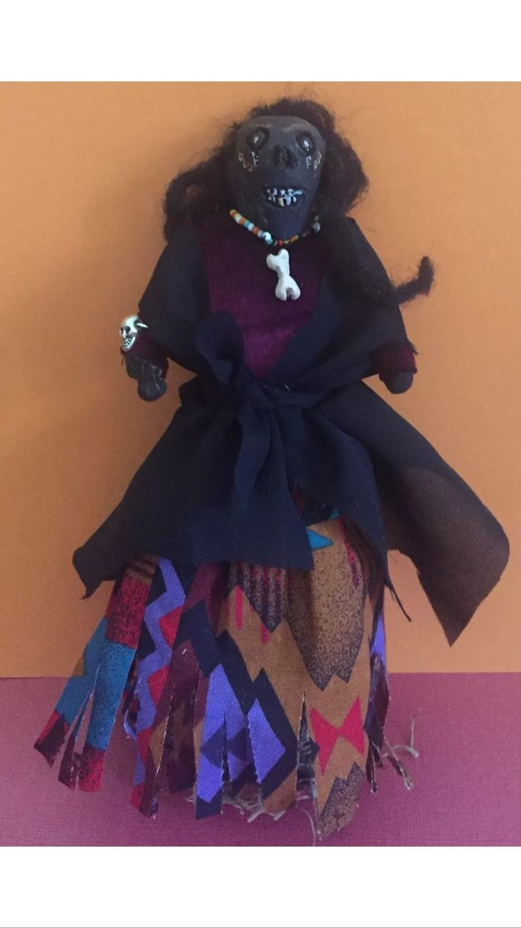 A personal favorite from my Etsy shop https://www.etsy.com/listing/286609273/voodoo-hoodoo-conjuring-doll