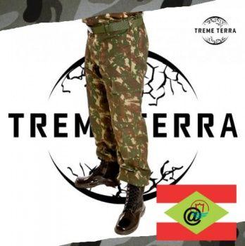 Produzida em RipStop profissional e com nossa Gandola de Combate Camuflada RipStop compõem a farda oficial do Exército Brasileiro.