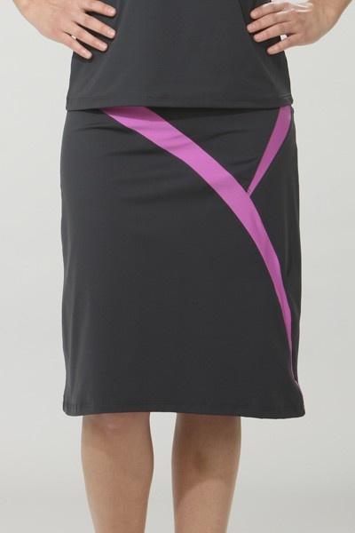 Modest Swimwear - Long Sporty Swim Skirt