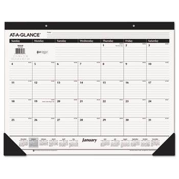 Classic Desk Pad, 22 X 17, 2016