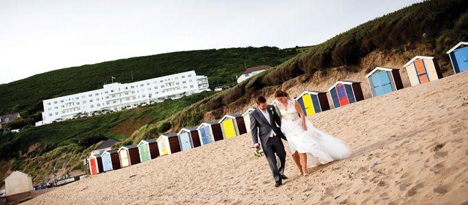 Wedding venues Devon | Saunton Sands Hotel | Luxury Devon beach hotel