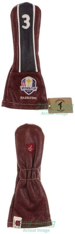 Golf Towels 18932: Iliac Hazeltine Golf Shop Exclusive Ryder Cup 2016 3 Wood Blue Stripe Headcover -> BUY IT NOW ONLY: $94.99 on eBay!