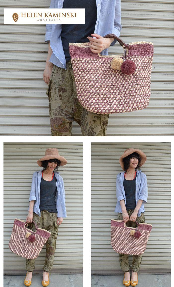 HELEN KAMINSKI crochet purse