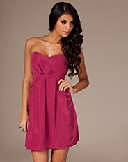 Annie Dress - Dry Lake - Pink - Party dresses - Clothing - NELLY.COM Fashion on the net