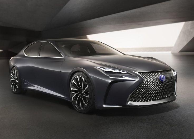 Lexus LF-FC : un premier modèle à hydrogène pour 2020 (+ photos) - Voitures à hydrogène