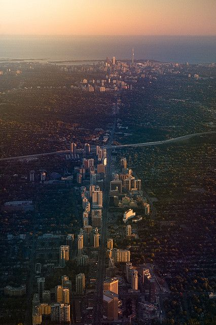Yonge Street, the World's Longest Street, Toronto, ON, Canada