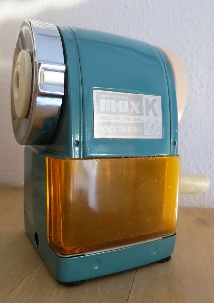 Max K Pencil Sharpener Japan