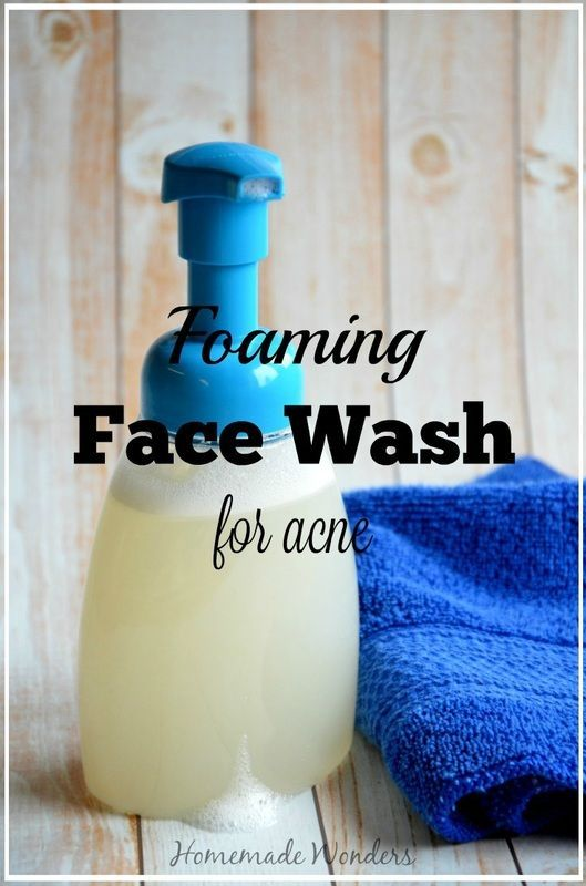 Foaming Face Wash for Acne - essential oils young living