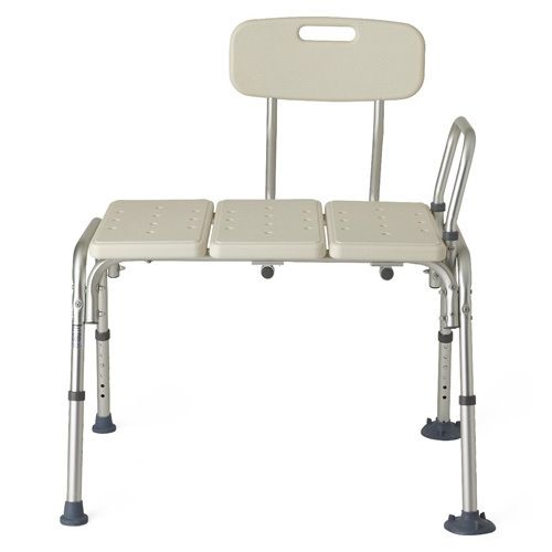 Transfer Bench with Back - Aids For Recovery