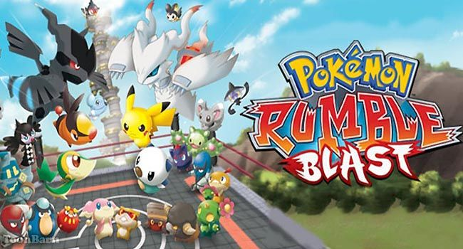 Pokémon Rumble Blast Decrypted ROM Download - (USA) - http://www.ziperto.com/pokemon-rumble-blast-decrypted/