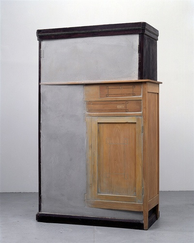 Doris Salcedo. Untitled, 1998. I've never seen anything like this. There isn't much left I can say that about.