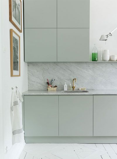 Modern Kitchen Design Lavander And Gray
