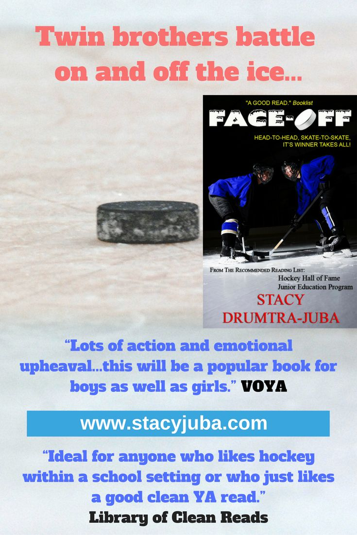 Faceoff Young Adult Ice Hockey Novel About Quarreling Brothers In High  School