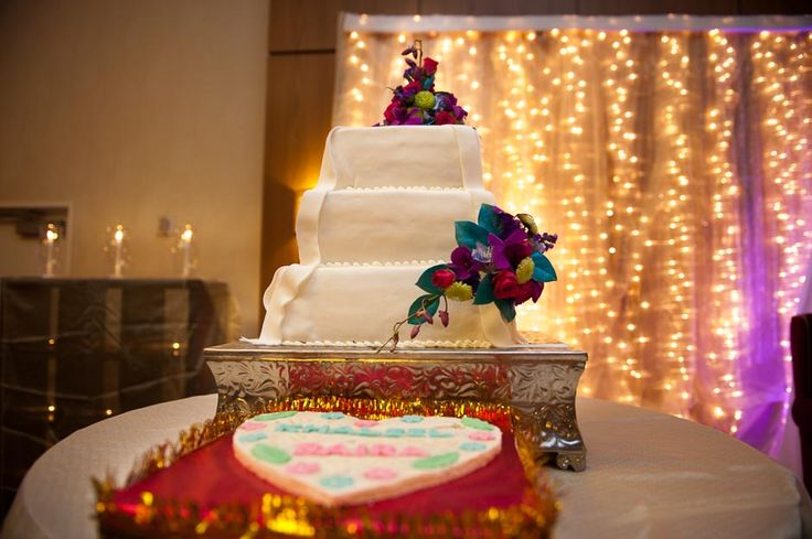 Cake Decorating Store Wichita Ks : Indian Wedding Reception Cake Table Design; Hyatt Regency Wichita Kansas; Chasing Sky ...