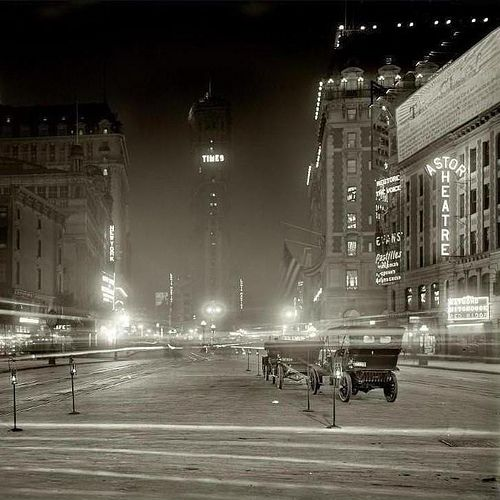 Times Square 1911: Toms Crui, York Cities, Times Square, Circa 1911, Red Widow, New York Time, 1911 Timessquar, 1911 Time Squares, Cities Scene