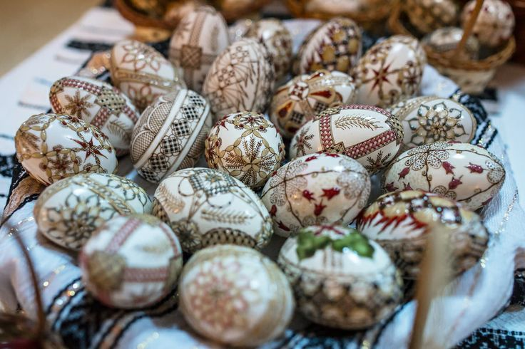 Easter eggs from Bucovina,Romania by Dumitrescu Catalin