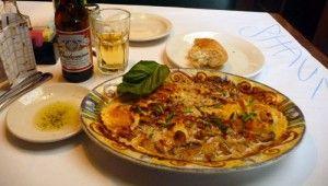 Macaroni Grill's Farfalle Di Pollo Al Sugo Bianco Recipe                          advertisement