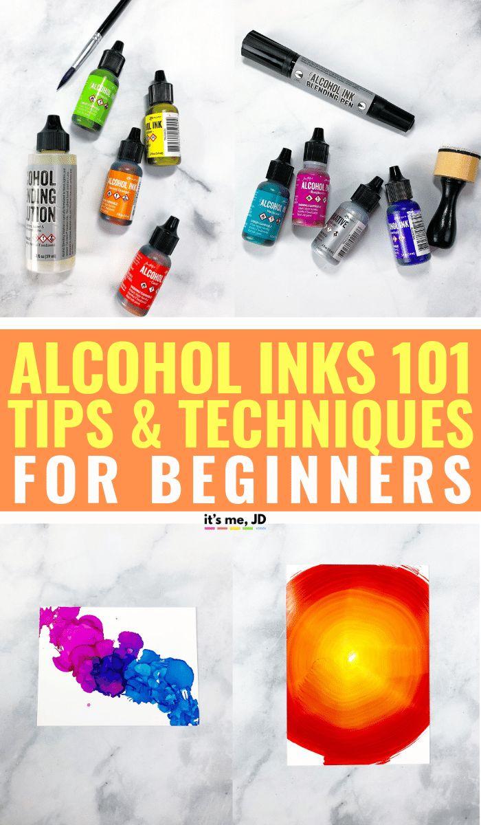 Verwendung von Alkoholtinte: Tipps und Techniken für Anfänger