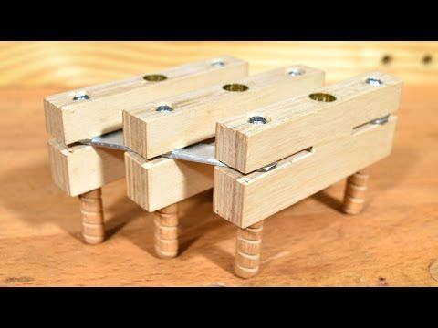 DIY Simple Dowel Jig - YouTube