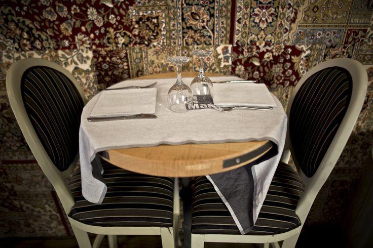 Un tavolo per 2? Certamente, prego ;-) #pizzeria #ristorante #roma #viatacito
