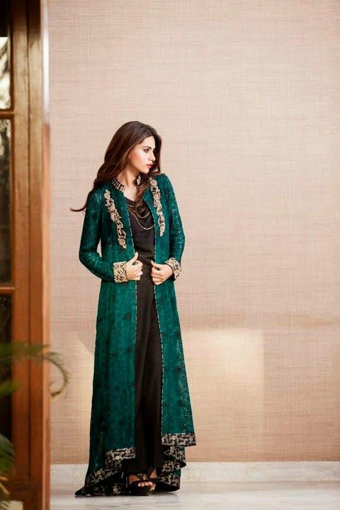 Zainab Chottani Eid Pret 2014-2015 | Luxury Pret Eid Dresses For Women - Reviews on Fashion to Figure