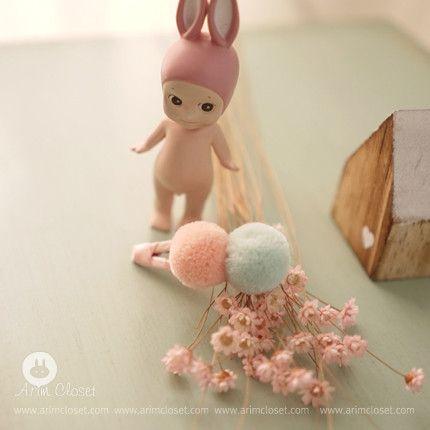 ARIM CLOSET Cotton Candy Hairclip Cotton candy, Diy