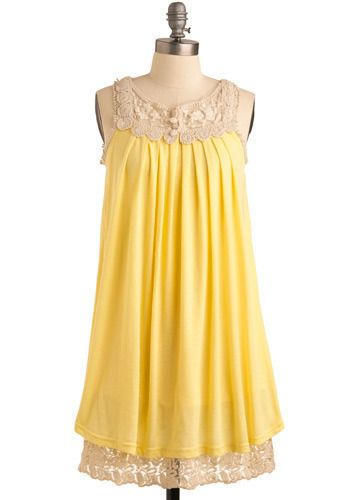 Needed by the queen of comfort... Moi - Sun Salutations dress @ Modcloth